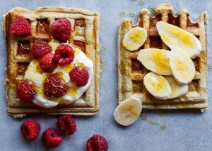 Receta de Waffles Saludables