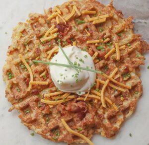 Waffles de Papa