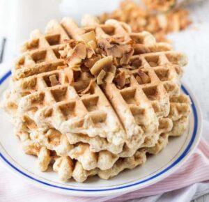 Receta de Waffles de Quinoa