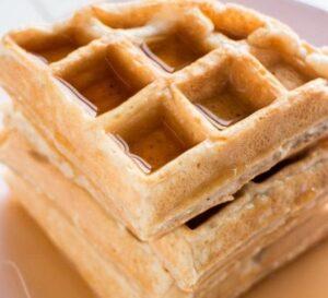 Receta de Waffles sin Manteca