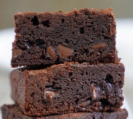 Receta de Brownies Tradicionales