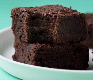 Receta de Brownies Veganos