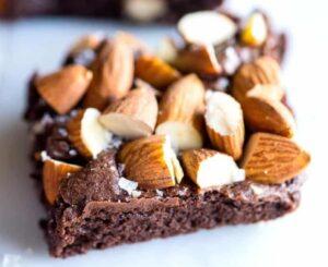 Receta de Brownies de Almendras
