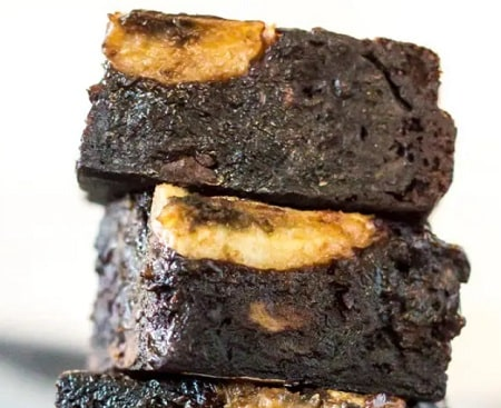 Receta de Brownies de Banano