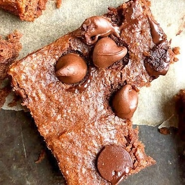 Receta de Brownies de Garbanzos