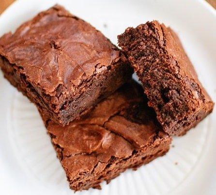 Receta de Brownies de Harina Integral