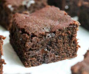Receta de Brownies de Harina de Coco