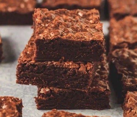 Receta de Brownies de Nutella