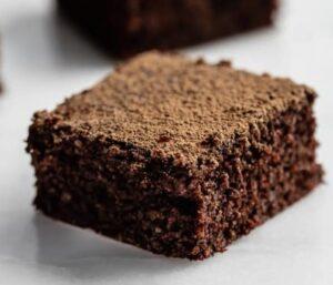 Receta de Brownies de Quinoa