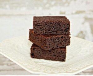 Receta de Brownies para Diabéticos