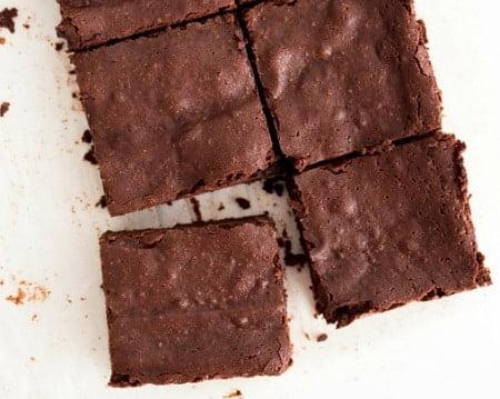 Receta de Brownies sin Harina